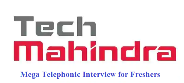 Tech Mahindra Hiring for Freshers | Telephonic Interview | Apply Now